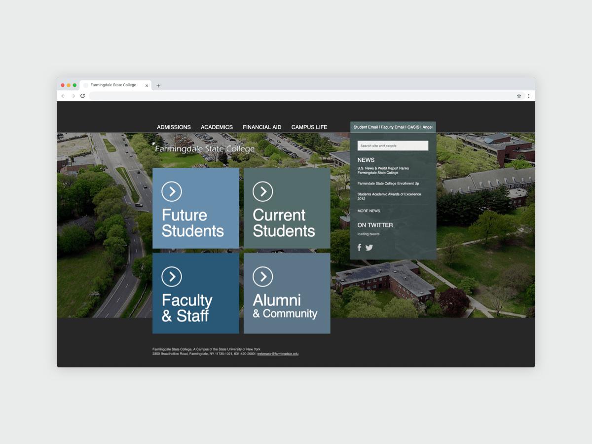 FSC Homepage Redesign